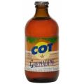 Limonade COT verre grenadine - 0,33L - Réunion